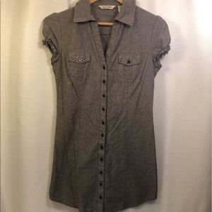 ☀️4/$15 DerekHeart Button Front Mini Dress / Tunic